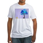 Syd and the Blueberry Tree Fitted T-Shirt