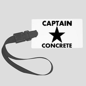 Captain concrete Luggage Tag