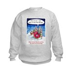 What reindeer do... Kids Sweatshirt