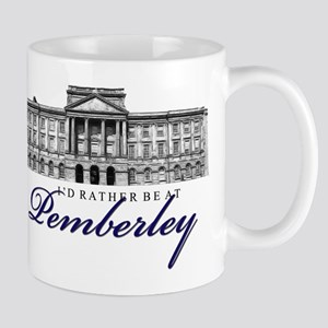 Id rather be at Pemberley Mugs
