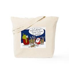 No Spare Santa Tote Bag