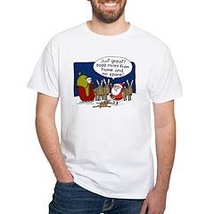 No Spare Santa White T-Shirt