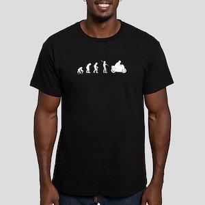 Motorcycle Evolution Men's Fitted T-Shirt (dark)
