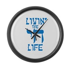Livin' The Chai Life Large Wall Clock