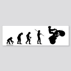 ATV Evolution Bumper Sticker (10 pk)