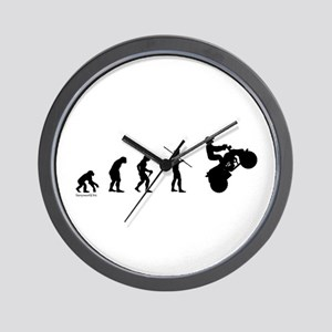 ATV Evolution Wall Clock