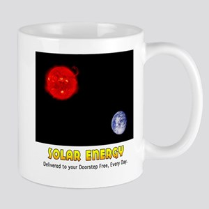 Solar Energy: Free Delivery Mug