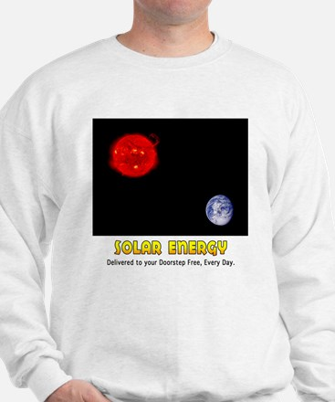 Solar Energy: Free Delivery Sweatshirt