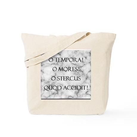 Sh*t Happens (Latin) Tote Bag