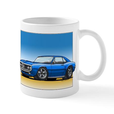 Blue 67-68 Firebird Mug