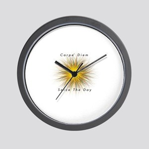 Carpe' Diem Wall Clock