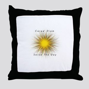 Carpe' Diem Throw Pillow