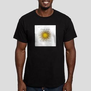 Carpe' Diem Men's Fitted T-Shirt (dark)