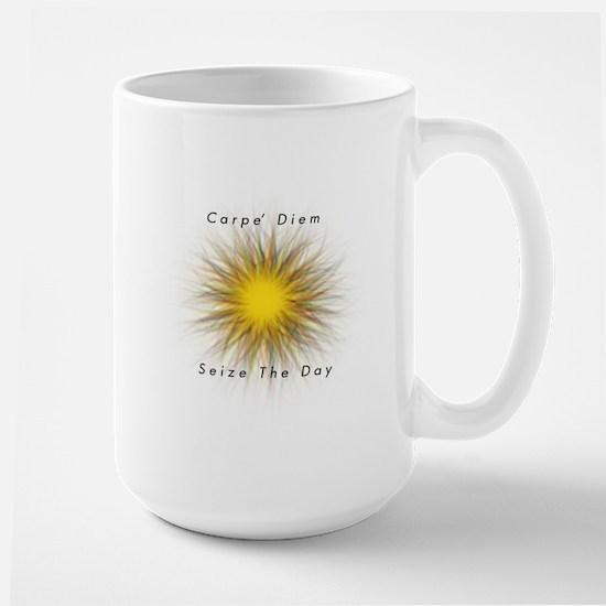 Carpe' Diem Large Mug