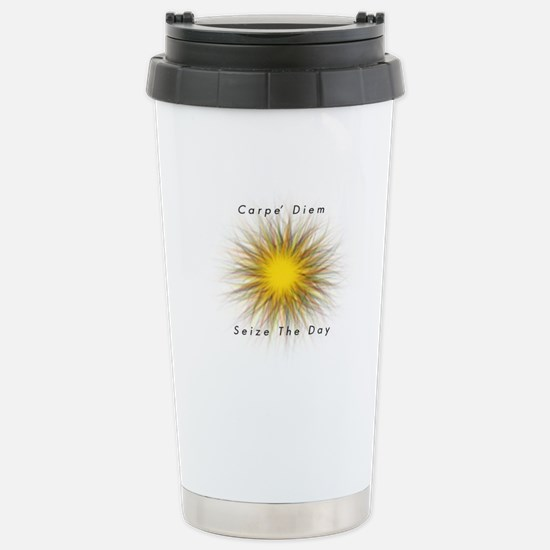 Carpe' Diem Stainless Steel Travel Mug