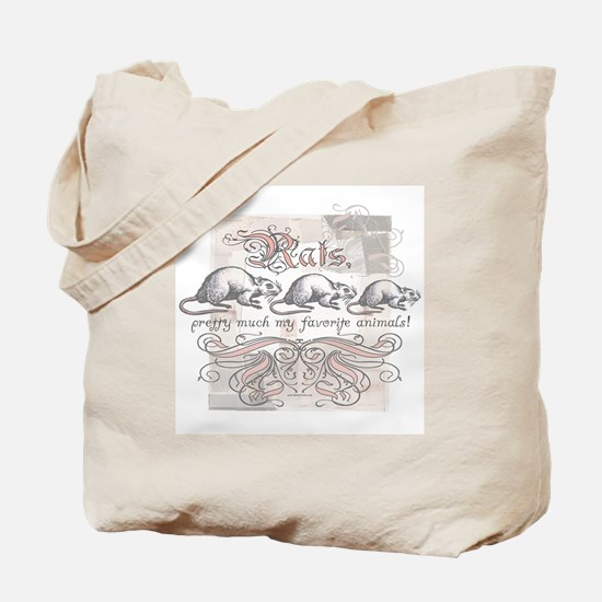 Favorite Rat Tote Bag