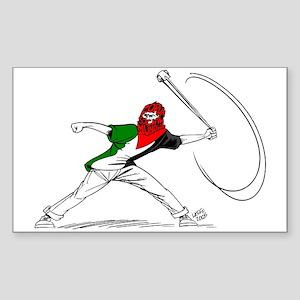 Ideal Palestinian Rectangle Sticker 10 pk)