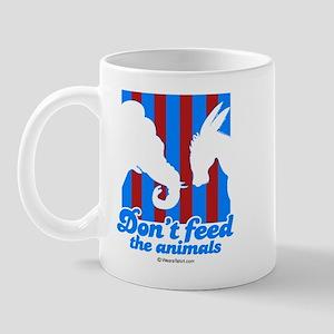 Don't feed the animals -  Mug
