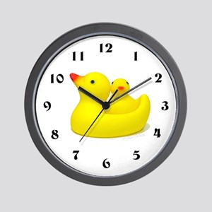 Just Ducky Wall Clock