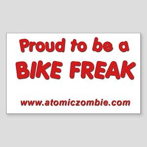 "Bike Freak (Rectangle) 3"" x 5"""