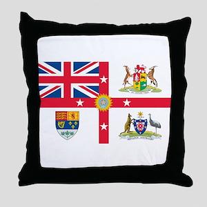 British Empire Flag Throw Pillow
