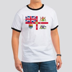 British Empire Flag Ringer T