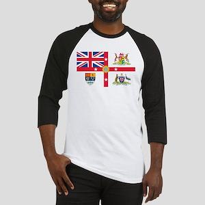 British Empire Flag Baseball Jersey