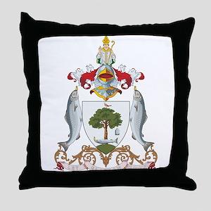 Glasgow Coat of Arms Throw Pillow