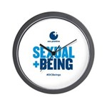 Sexual Being Wall Clock