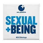 Sexual Being Tile Coaster