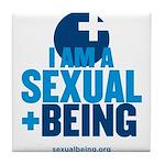 I am sexual Tile Coaster