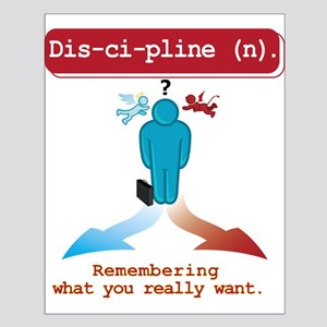 Discipline Small Poster