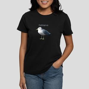 Delmarva Gull Logo Women's Dark T-Shirt