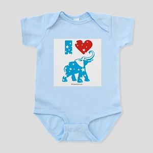 I Love Republicans -  Infant Creeper