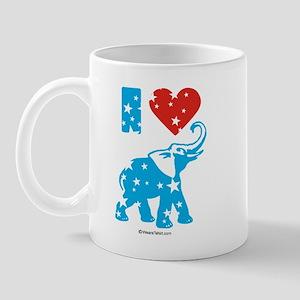 I Love Republicans -  Mug