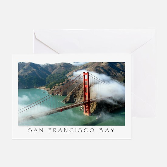 Iconic SFBayImages.com Aerial Greeting Card