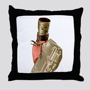 Drink Me Potion Throw Pillow