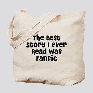 Best Story Tote Bag