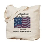 Amrican Patriot Tote Bag
