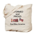 Informed and Proud Tote Bag