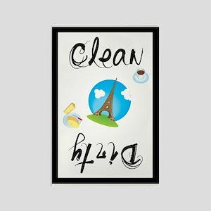 Paris Clean/Dirty Magnet