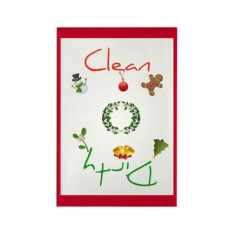 Traditional Christmas Magnet