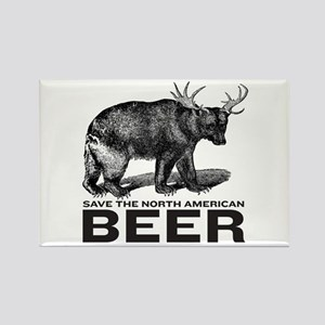 Save Beer Rectangle Magnet