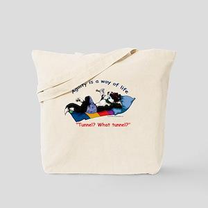 Agility shirt Tote Bag