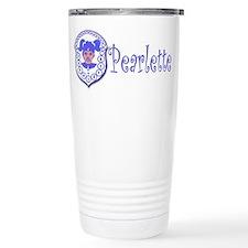 Pearlette Curlz Stainless Steel Travel Mug