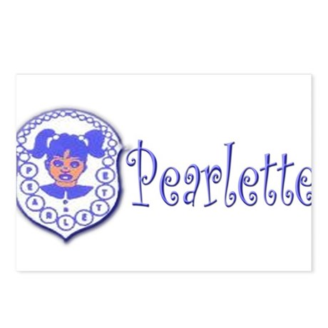 Pearlette Curlz Postcards (Package of 8)