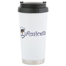 Amicette Curls Stainless Steel Travel Mug