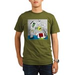 Monster Karate Organic Men's T-Shirt (dark)