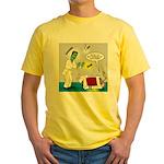 Monster Karate Yellow T-Shirt
