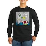 Monster Karate Long Sleeve Dark T-Shirt